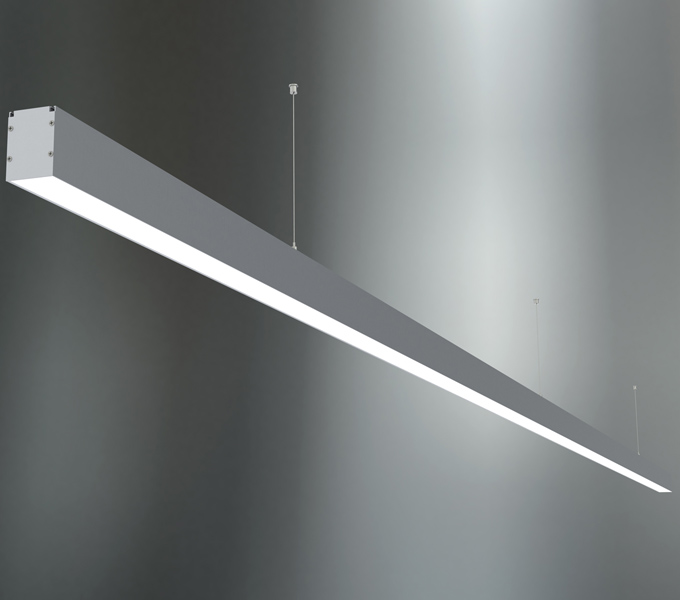 Pendant or surface luminaires for continuous line tl 8 aloadofball Gallery