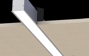 Recessed luminaires made of extruded aluminium